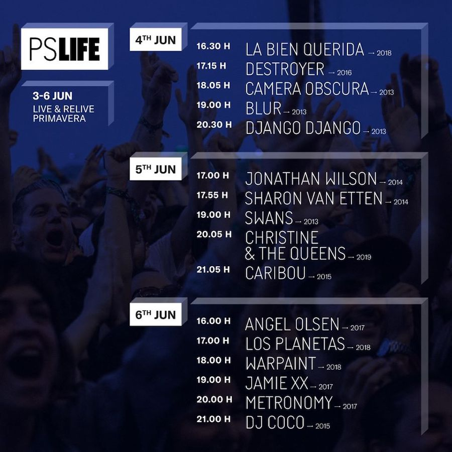 Primavera Sound PS Life