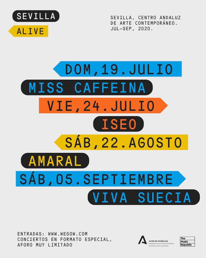 Sevilla Alive: Conciertos, fechas y entradas