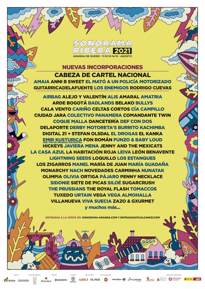 Sonorama 2021 - Cartel