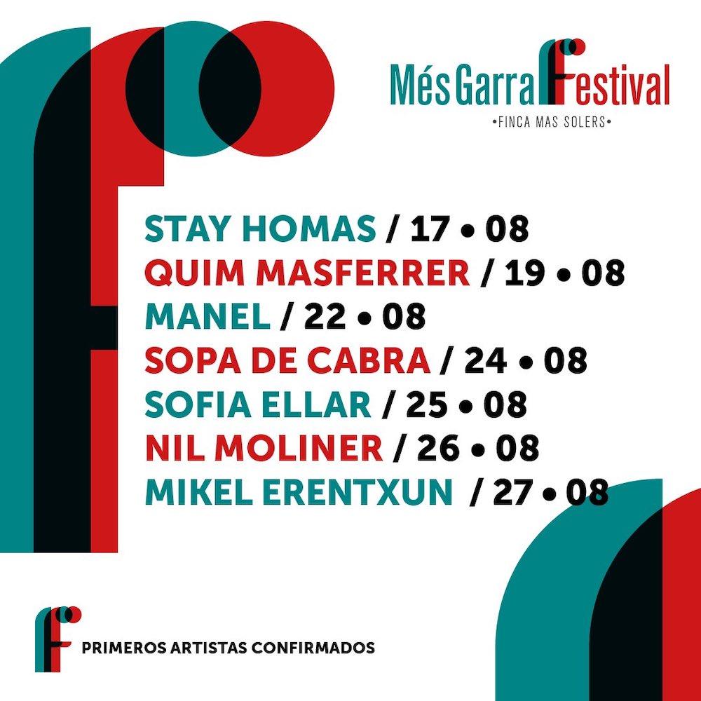 Més Garraf Festival 2020: conciertos, fechas y entradas