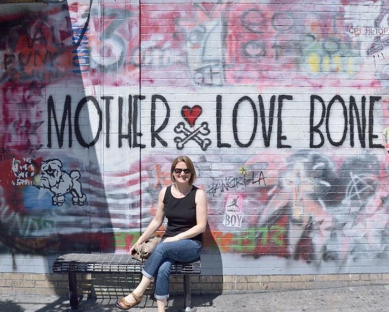 Seattle y el mural de Mother Love Bone