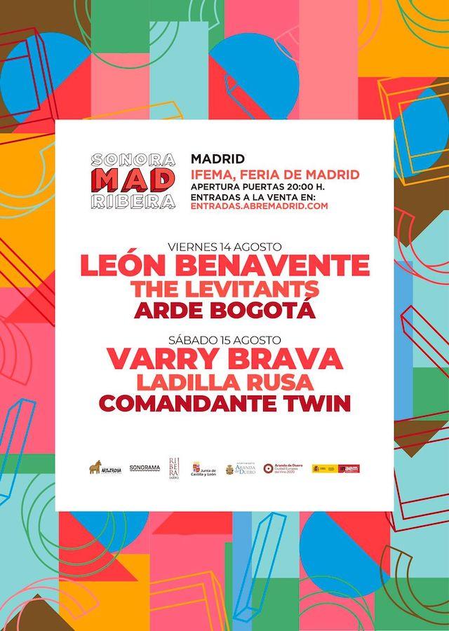 Sonorama Mad Ribera: conciertos y fechas