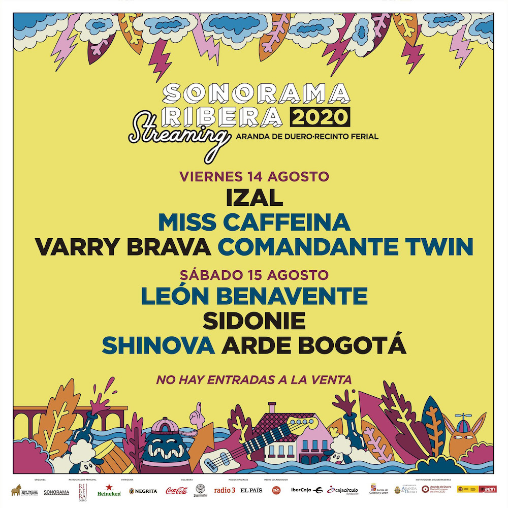 Sonorama Ribera 2020 en streaming