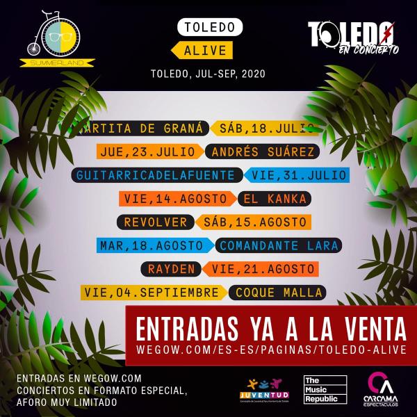 Toledo Alive: conciertos, fechas y entradas