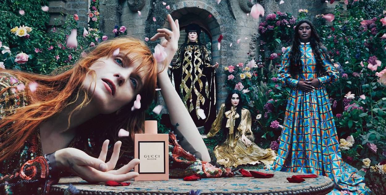 Florence Welch - Anuncio TV Gucci Bloom