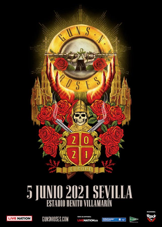 Concierto de Guns N' Roses en Sevilla 2021