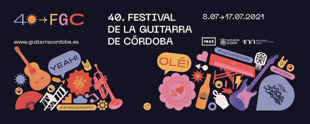 Conciertos del Festival de la Guitarra de Córdoba 2021