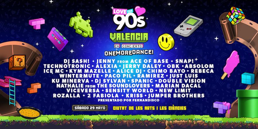 Love the 90's Festival 2021 en Valencia