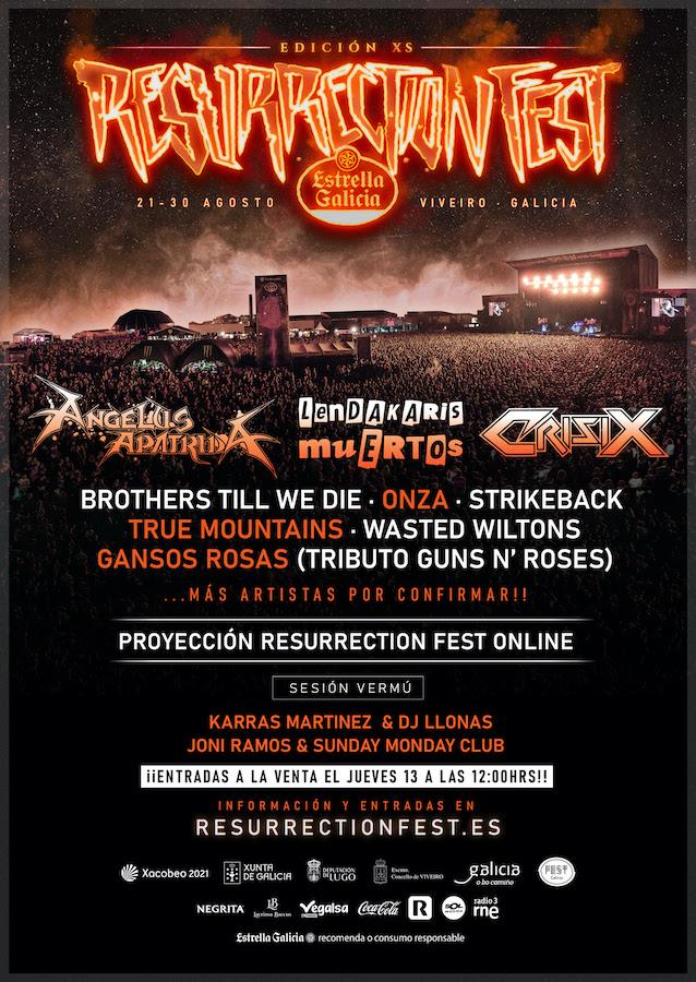 Resurrection Fest XS: ciclo de conciertos en formato reducido en Viveiro