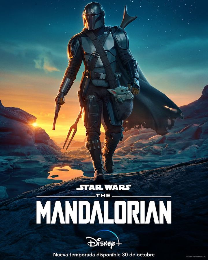 The Mandalorian - Póster Temporada 2
