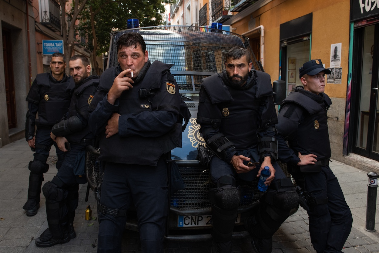 Banda Sonora de 'Antidisturbios' de Olivier Arson