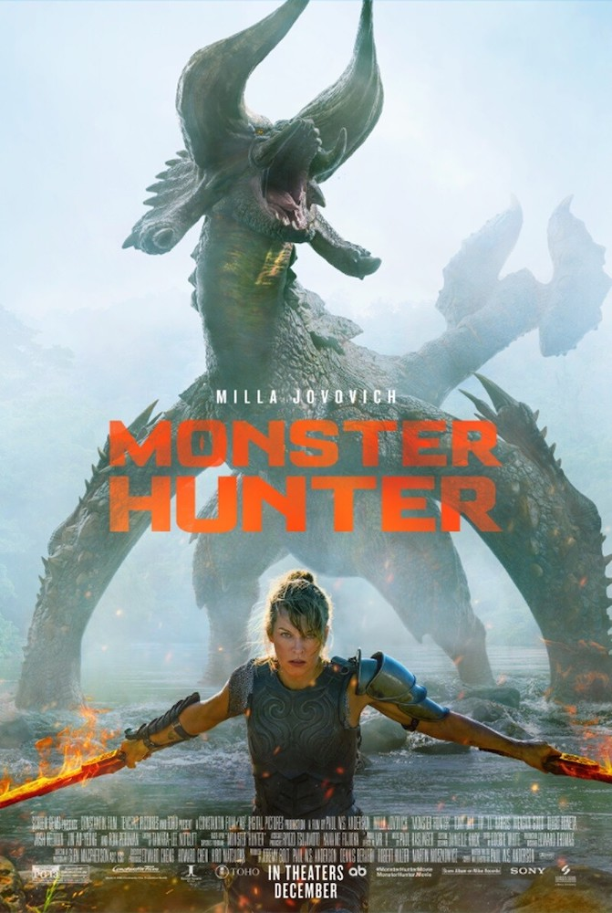 Monster Hunter - Póster