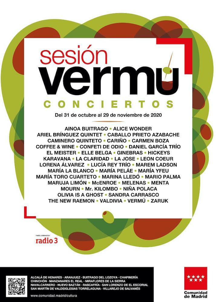 Conciertos de 'Sesión Vermú' - Comunidad de Madrid