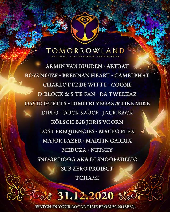 Tomorrowland 2020 - Nochevieja