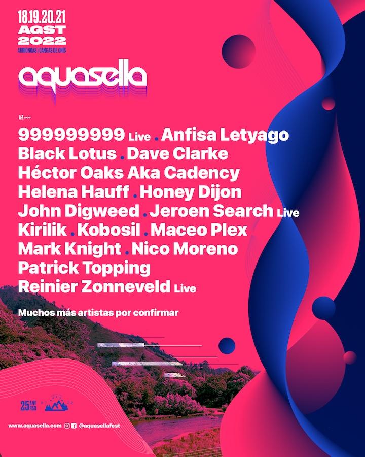 Cartel Aquasella Festival 2022