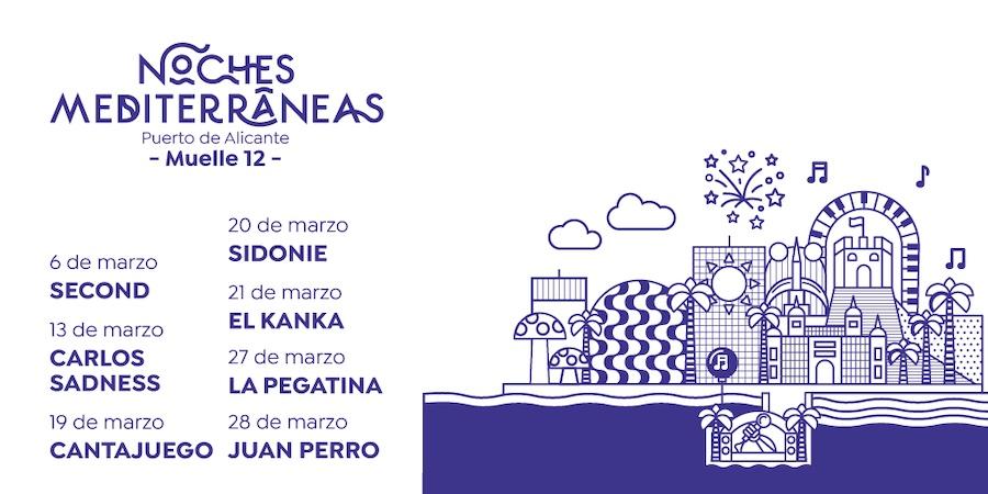 Noches Mediterráneas 2021: conciertos y entradas