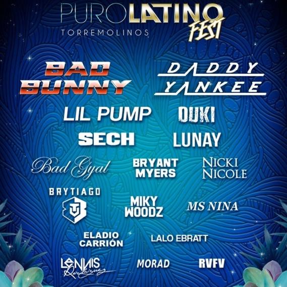Puro Latino Fest Torremolinos 2021