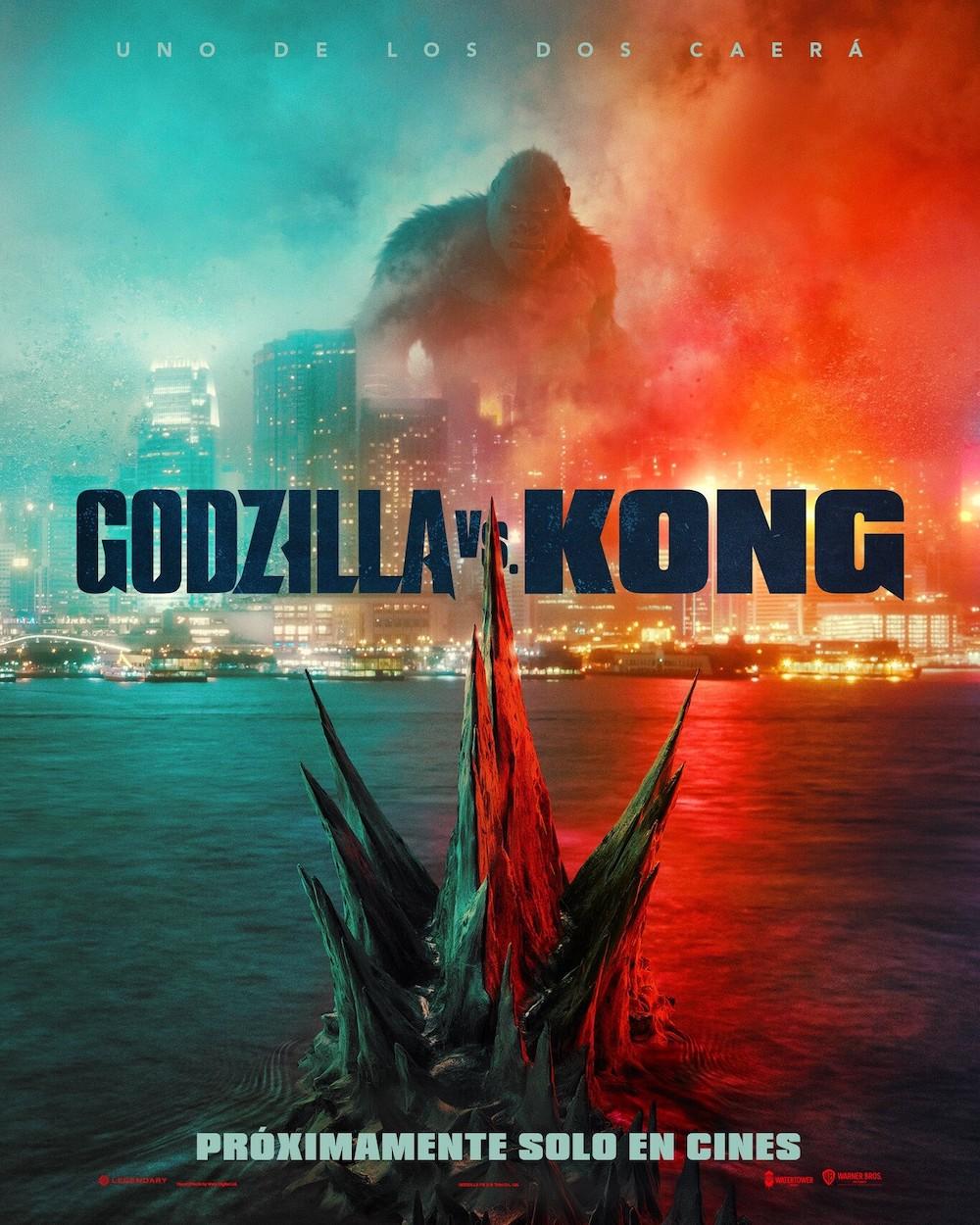 Póster de Godzilla vs. Kong (2021)