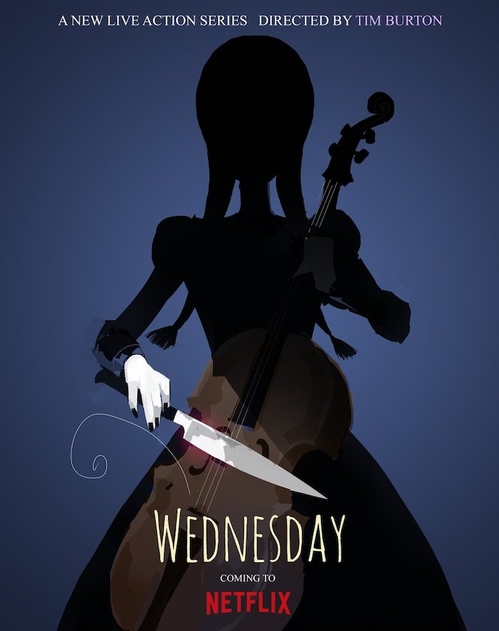Miércoles: Serie de Tim Burton para Netflix