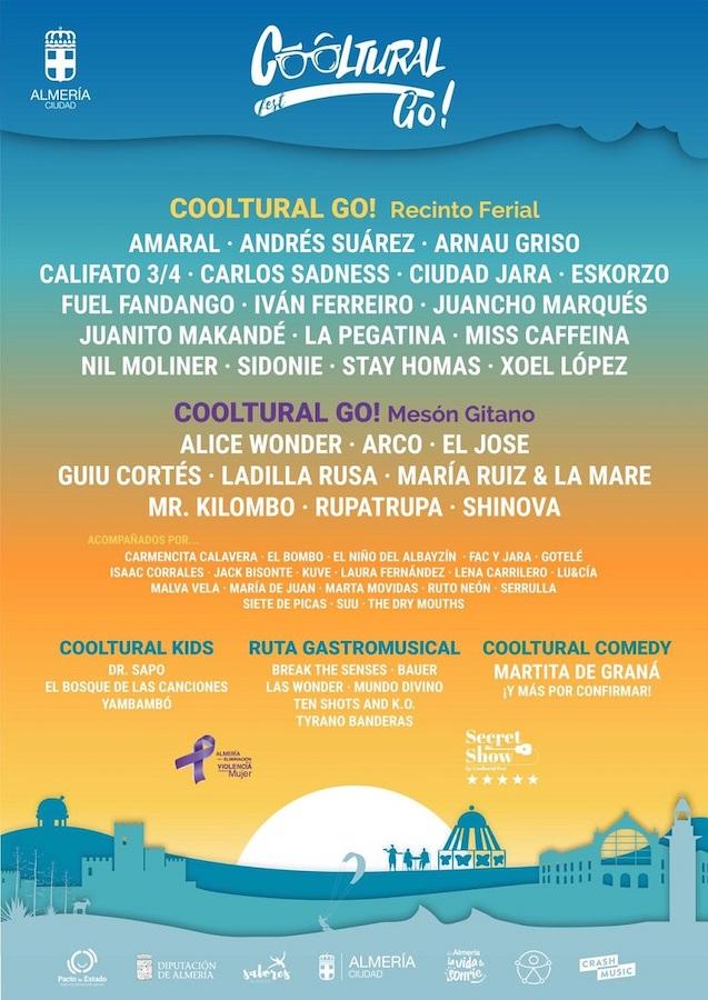 Cooltural Go 2021 - Conciertos en Almería