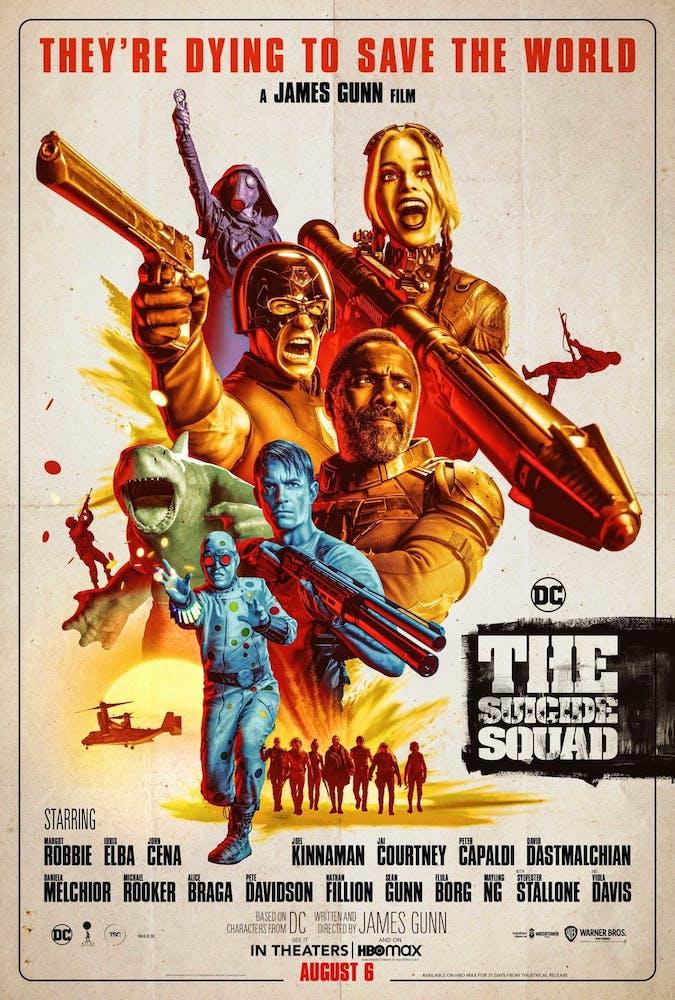 El Escuadrón Suicida (2021) - Póster
