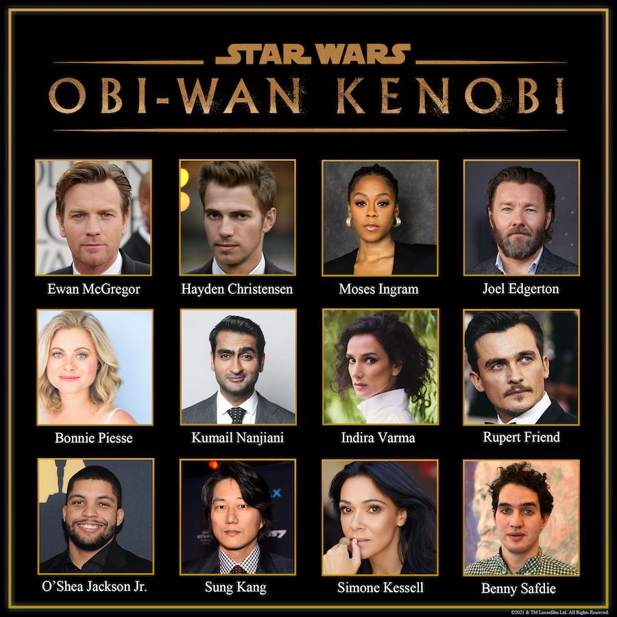 Reparto 'Obi-Wan Kenobi'
