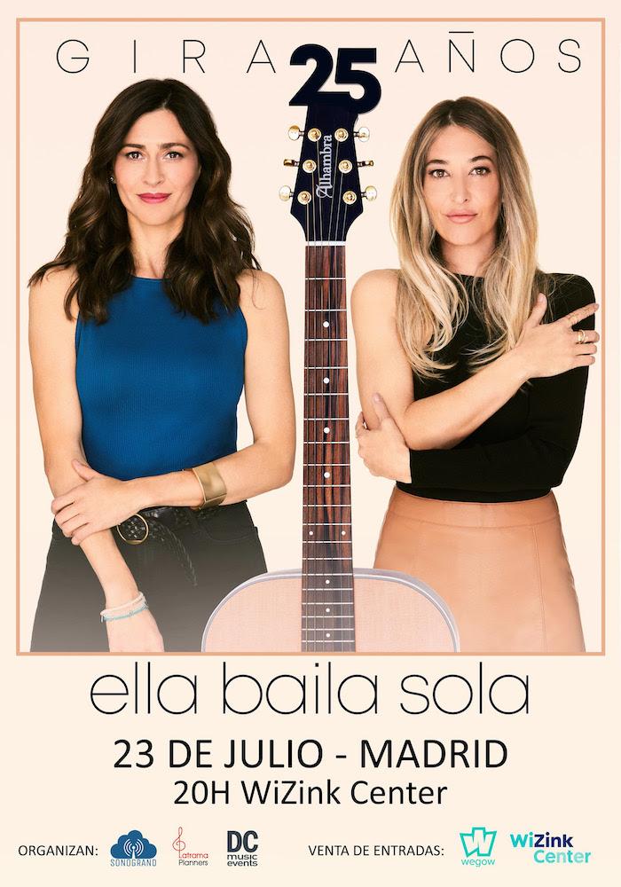 Concierto de Ella Baila Sola en Madrid 2021