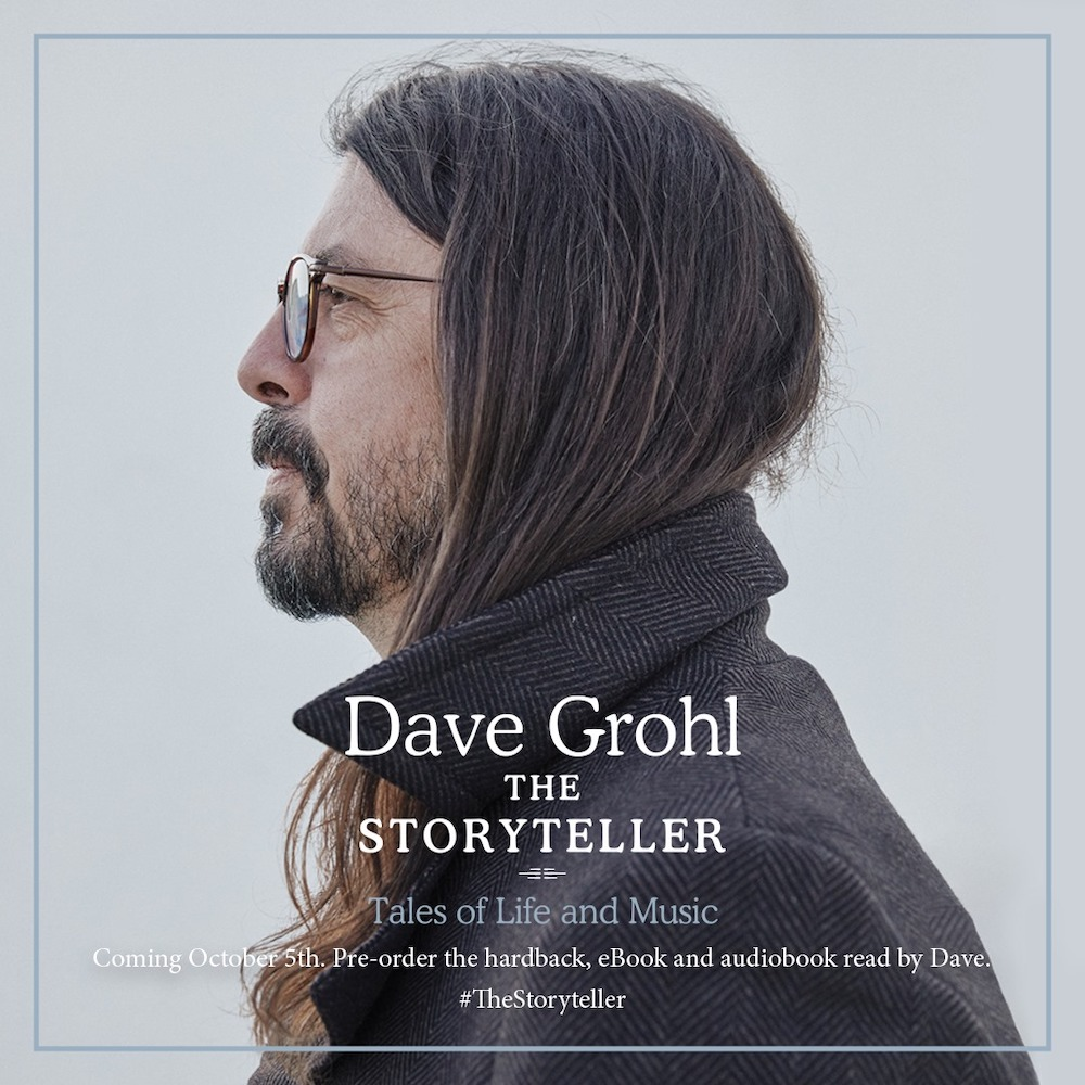 Dave Grohl - Libro The Storyteller