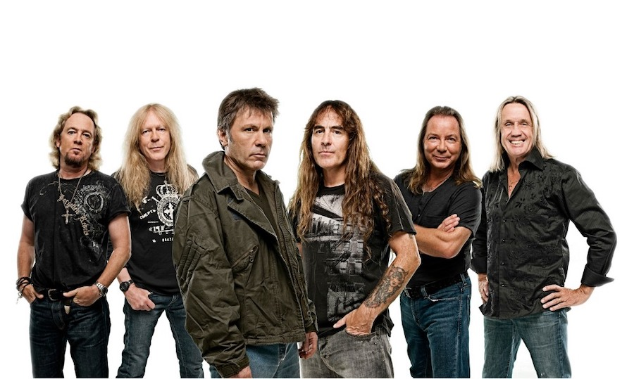 Concierto de Iron Maiden en 2022
