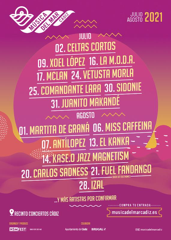 Música del Mar Cádiz (2021)