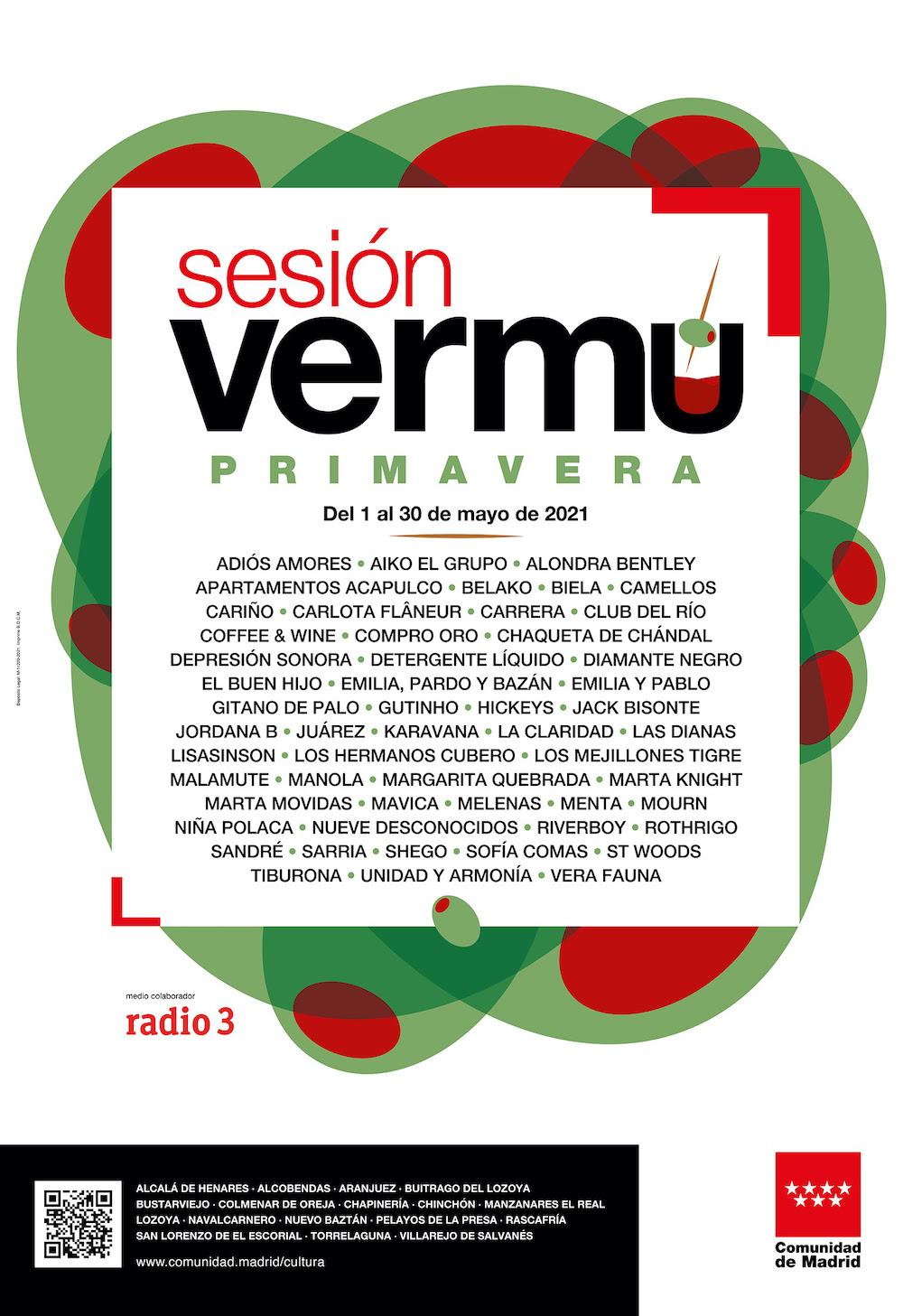 Sesión Vermú 2021: conciertos, fechas y ciudades