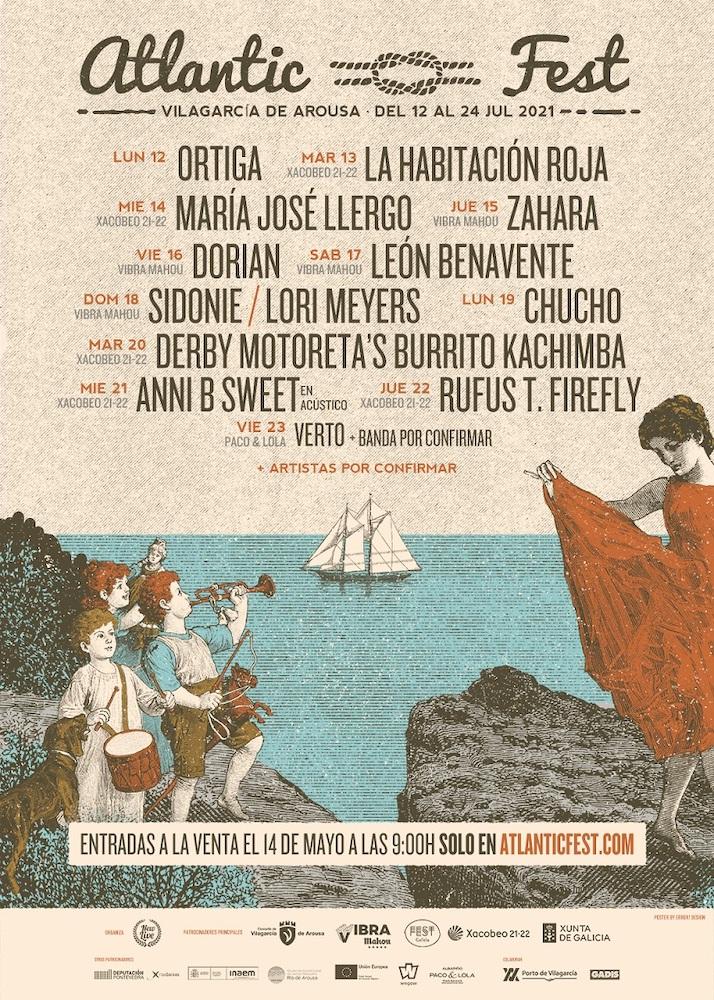 Atlantic Fest 2021 - Cartel