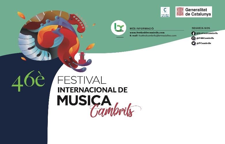 Cartel Festival de Cambrils 2021