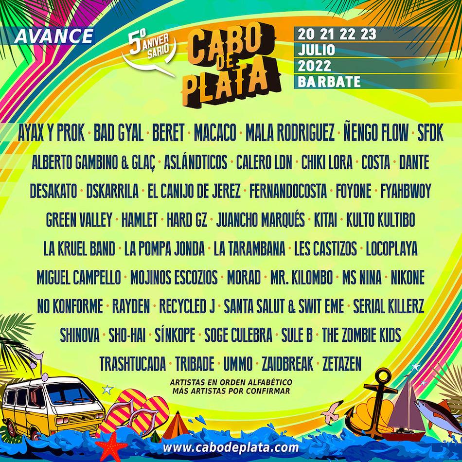 Cartel de Cabo de Plata 2022