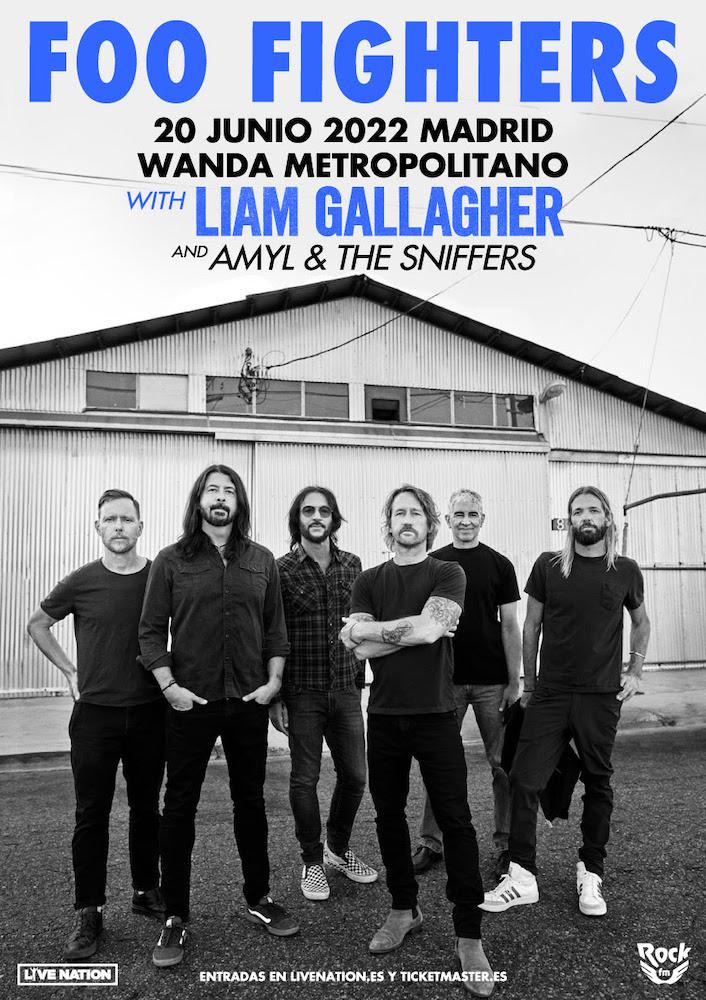 Concierto de Foo Fighters en Madrid en 2022