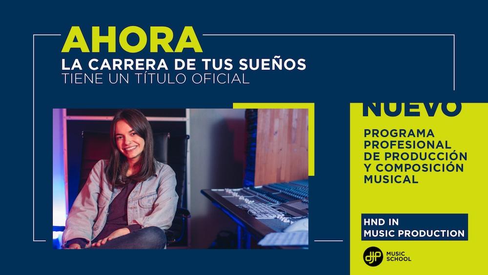Programa Profesional de Producción y Composición Musical - HND