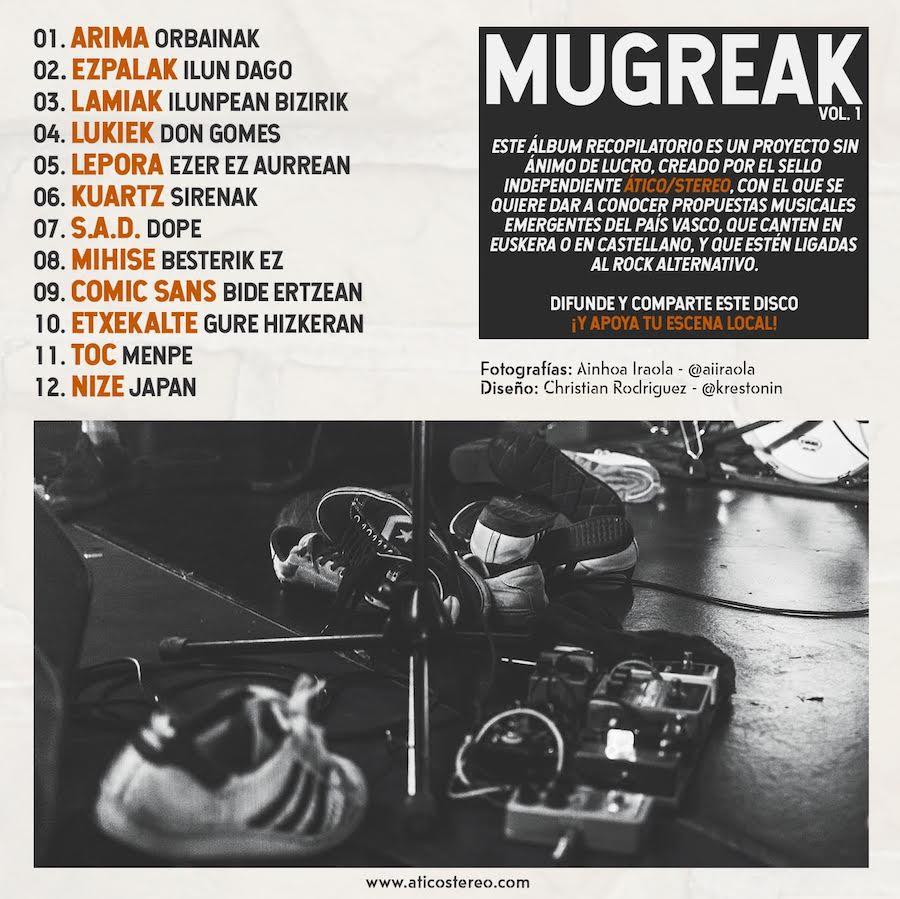 MUGREAK vol. 1 - Grupos vascos
