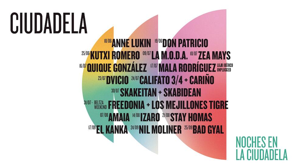 Noches en la Ciudadela de Pamplona 2021: conciertos y fechas