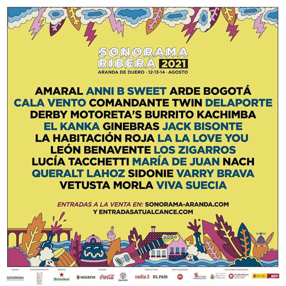 Cartel Sonorama 2021