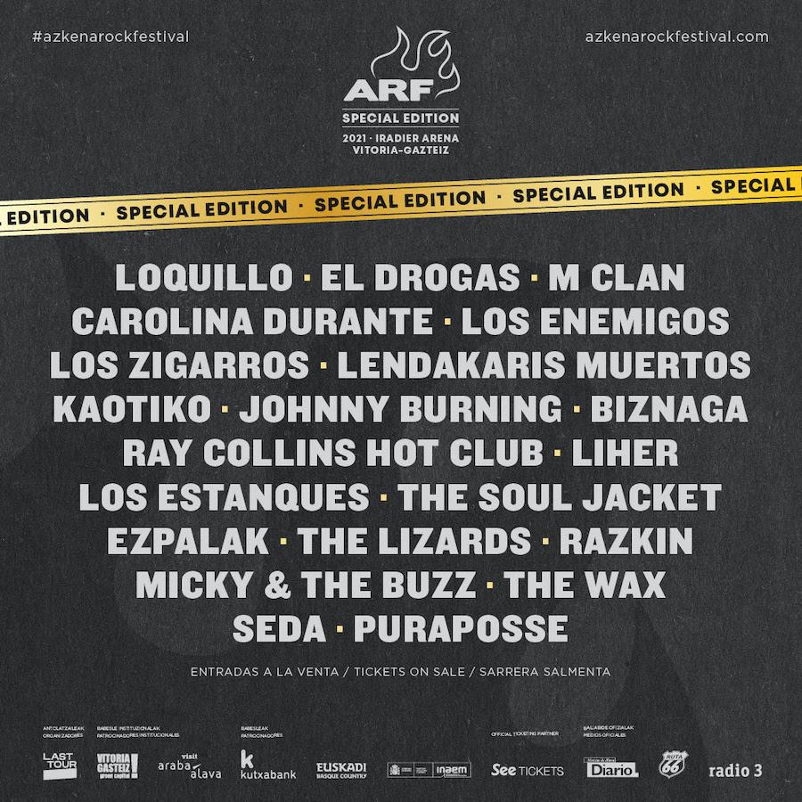 Azkena Rock 2021 : Ciclo conciertos Vitoria-Gasteiz