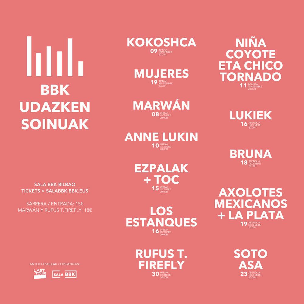 BBK Udazken Soinuak - Conciertos en Bilbao