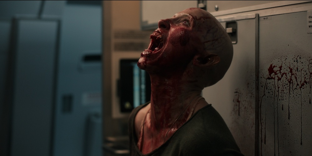 Cielo rojo sangre - Película de terror
