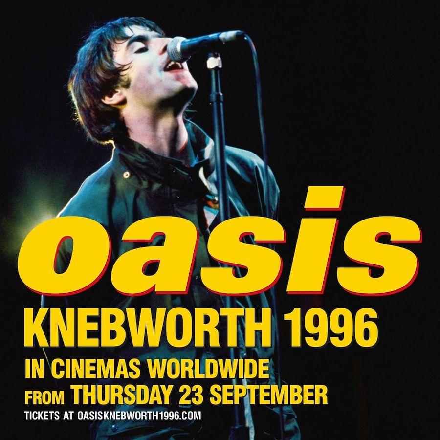 Documental Oasis Knebworth 1996