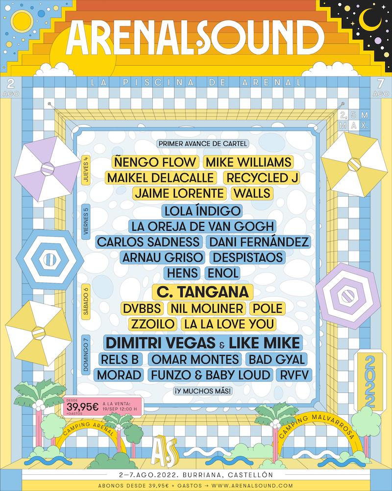 Cartel del Arenal Sound 2022