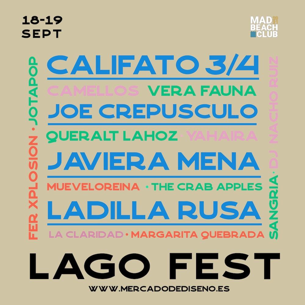Lago Fest 2021 - Cartel
