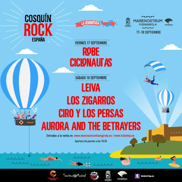Cosquín Rock España 2021