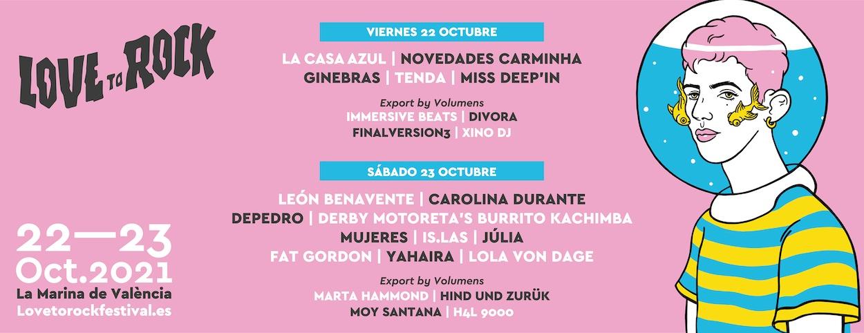 Love To Rock 2021 en Valencia