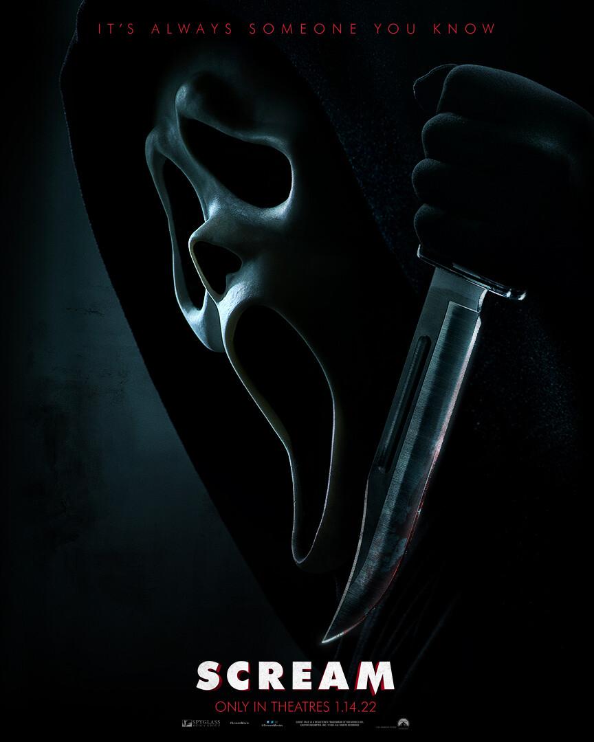 Póster de Scream 5 - Ghostface