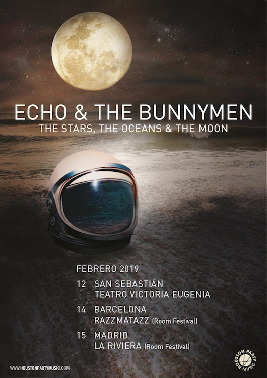 Conciertos Echo & The Bunnymen 2019