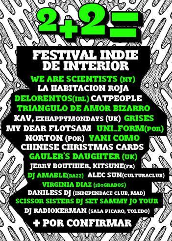Festival 2+2 - Cartel